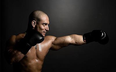 Силовая подготовка боксера!